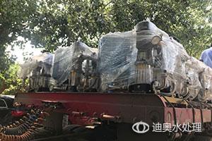 多套变频供水设备+反渗透设备发货
