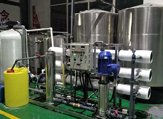 大型商用反渗透净水设备