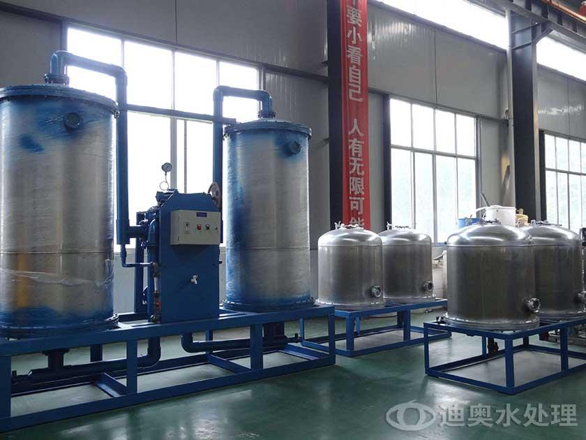 印染纺织行业用软化水设备的结构和特点