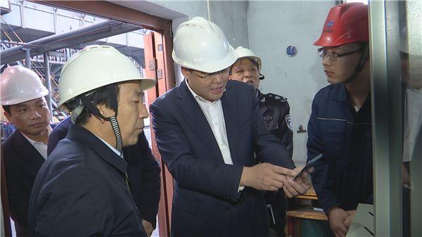 省生态环境厅副厅长刘文亮来韩城市调研环保督察整改工作