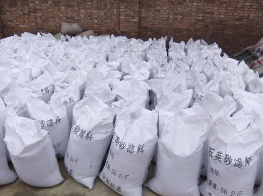 石英砂水处理滤料