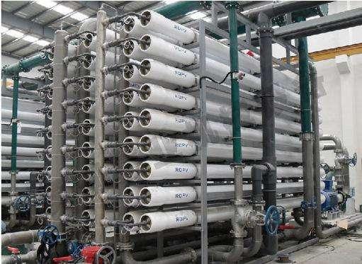 反渗透设备在不同的水中的使用