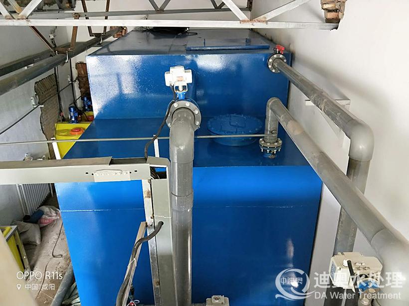 陕西旬邑县清源煤矿厂一体化净水设备