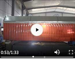 污水车间钣金车床