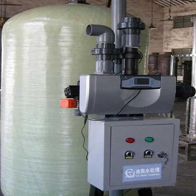 单罐流量控制软化水设备