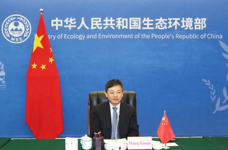黄润秋视频会见国际可再生能源署总干事